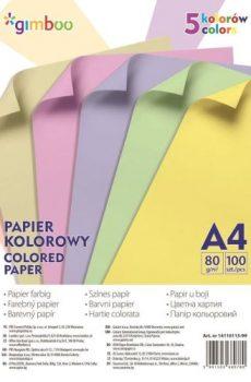 Hartie color, carton alb si color