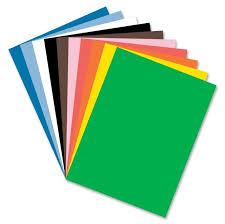 Carton alb si color